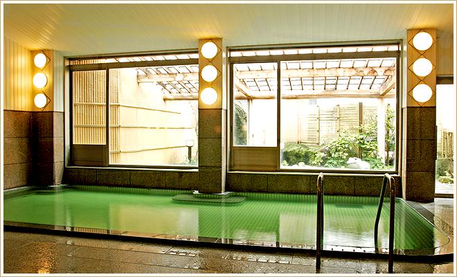内湯大浴場(男女同タイプ)源泉